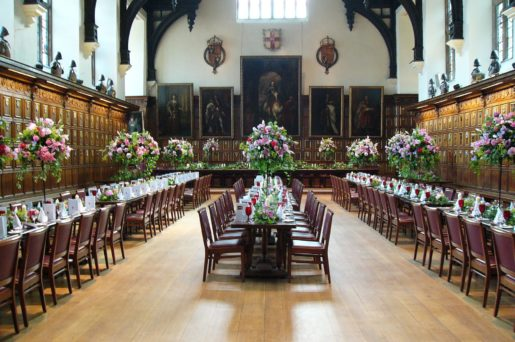 Hall with flowers_0